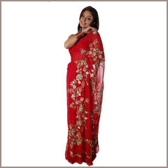 Bridal Sequin Work Sarees