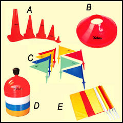 Marking Cones & Flags