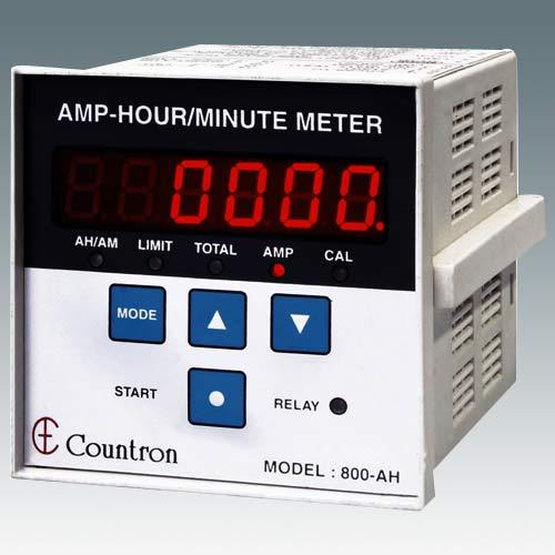 Amp Hour Meter : Ampere hour meters minute programmable amp