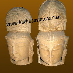 Ladies Head Statues