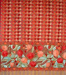 Kashmiri Handicrafts Store: Crewel Fabric, Crewel Pillows