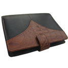 Black and Brown Croco Organiser