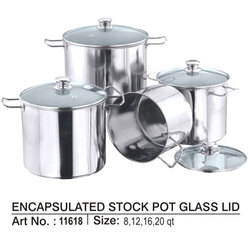 Glass Lid Stock Pot