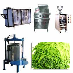 Wheat Grass Powder Manufacturing Plant