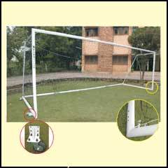 Foot Ball Goal Post With Wheels