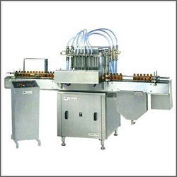 Vial Rinsing, Filling And Capping Machines