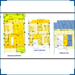 Layout Plan 4 BHK