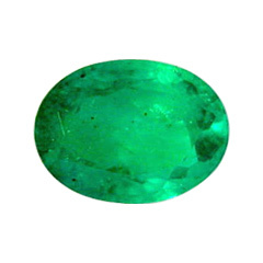 Oval Shape Single Emerald