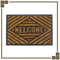 Welcome Mats and Door Mats For The Home