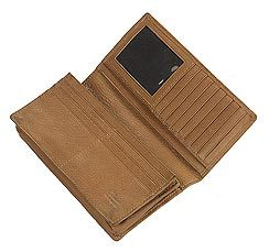 Leather Ladies Clutch Wallet