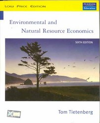 Enviromental And Natural Resource Economics