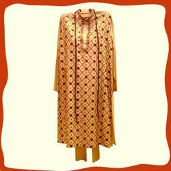 Men's Cotton Silk Punjabi Suits