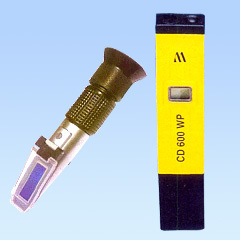 Portable imported EC/PH/TDS and Refractometers