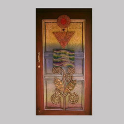 Interior Door Art