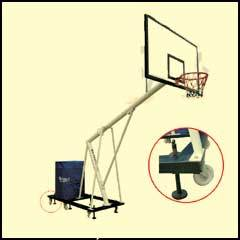 Mobile Basket Ball Pole Set