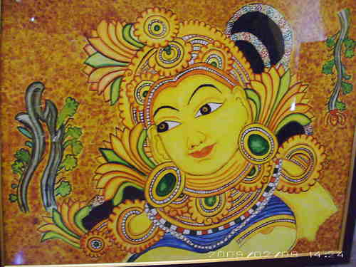 Kerala mural painting view specifications details of for 3d mural art in india