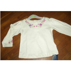 Girls Embroidered Tops