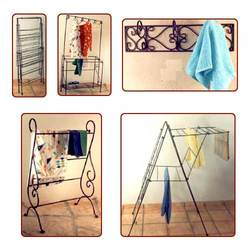 Wrought Iron Clothes Stand