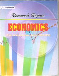 Economics Research Report Book