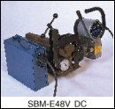 SBM-E48V DC/Rail Drilling Machines