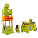 Compression Moulding Four Pillar Presses