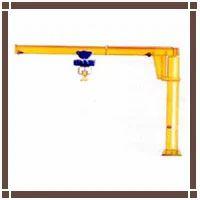 Single Pole Swing Arm Crane
