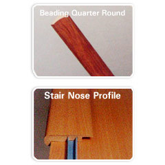 Quarter Round Profile & Stair Nose Profile