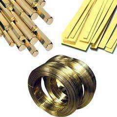 Brass Rods, Wires, Flats