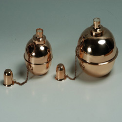 Copper Oil Lamps