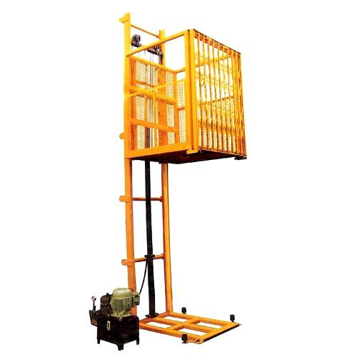 Hydraulic Goods Lift (Two Channel Guide)