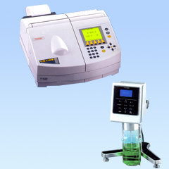 UV-VIS / Visible Spectrophotometer & Digital Viscometers