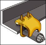 CADDY Pipe-To-Beam Clamps (Beam/Purlin)