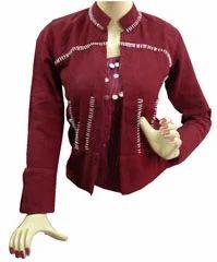 Embroidered Ladies Jacket