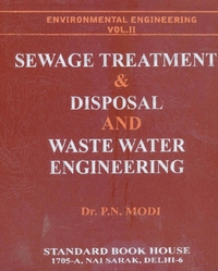 Sewage Treatment & Disposal And Water Supply Engineering