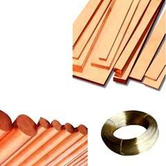 Copper Rods, Wires, Flats