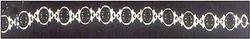 Black Onyx Studded Silver Bracelet