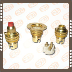 Brass Minuture Lamp Holders ( SBC-B-15 )