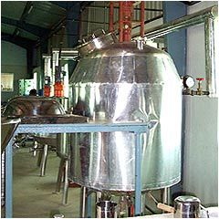 Aloe Vera Processing Machine
