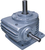 Vertical Worm Reduction Gearbox (Rawg)