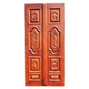 Wooden Single Shutter Door