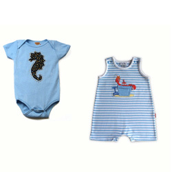 Knitted Infants Rompers