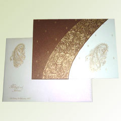 Traditional Wedding Card