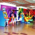 Fast Food And Kids Zone