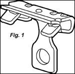CADDY Hammer-On Flange Clip (Beam/Purlin)