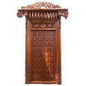carved amp traditional wood door