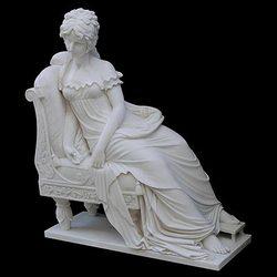 fiberglass lady sculpture