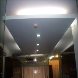 Glass False Ceiling