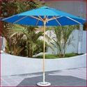 Wooden Patio Umbrella