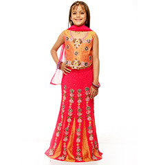 Beaded Lehenga Choli