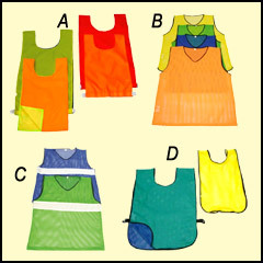 Pinnies, Bibs & Vests